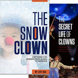 Both of Jeff Raz's books
