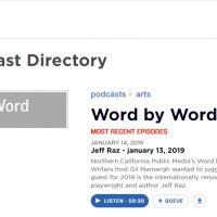 NPR Word by Word Interview with Jeff