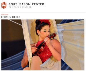 Jeff Directs Solo Show Cara Vita - A Clown Concerto at SF International Arts Festival @ Fort Mason Center Firehouse