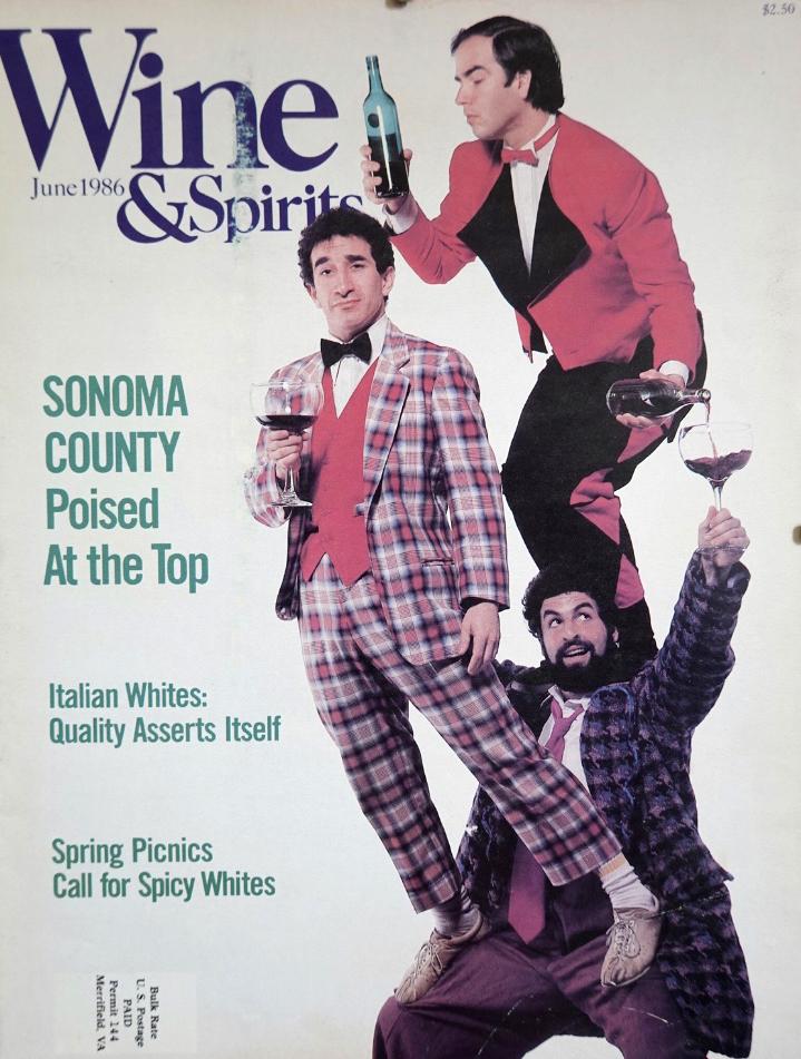 wine and acrobatics