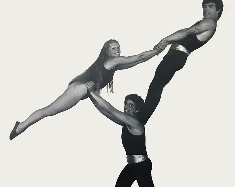 Acrobatics with Jeff Raz